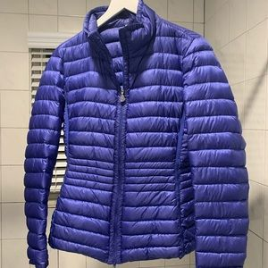 Moncler lightweight jacket! Rolls up to fit in bag
